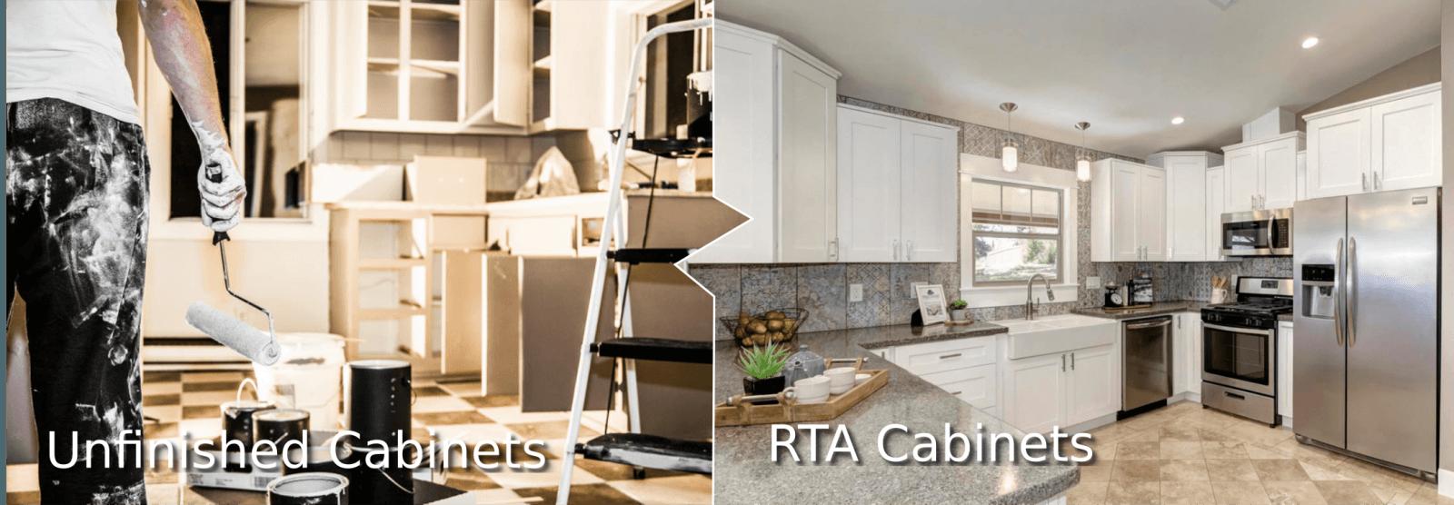 unfinished-Vs-Rta-Cabinets