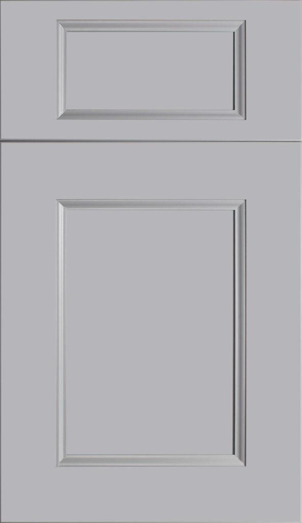 Fabuwood Nexus Slate shaker gray kitchen cabinets door and drawer sample