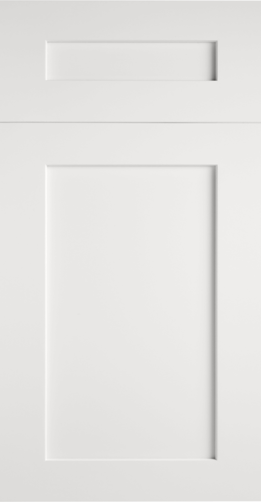Valleywood Pure White shaker kitchen cabinets door and drawer sample