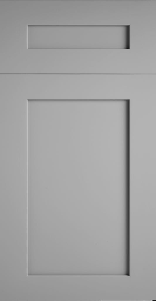 Valleywood Proper Gray shaker kitchen cabinets door and drawer sample