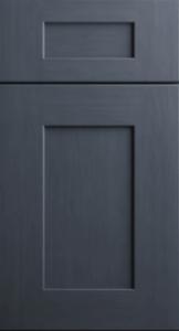 CNC Cabinetry Elegant Ocean Blue blue shaker kitchen cabinets door and drawer sample