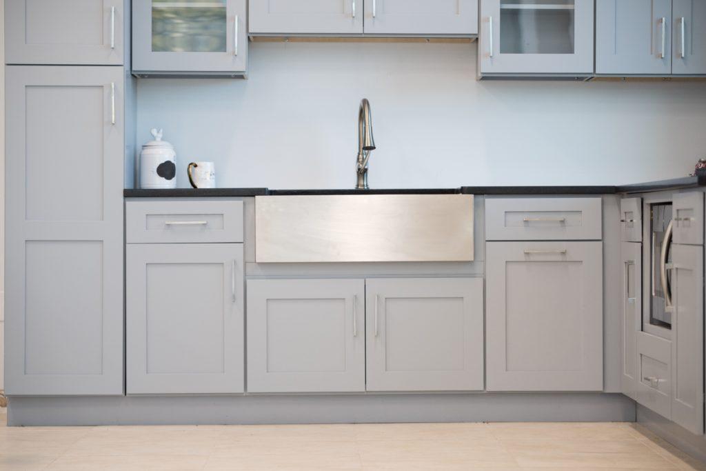 An RTA kitchen developed by walcraft cabinetry