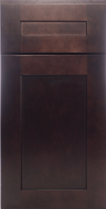 Muses Cabinets Helena Saddle stained traditional rta kitchen cabinets door and drawer sample