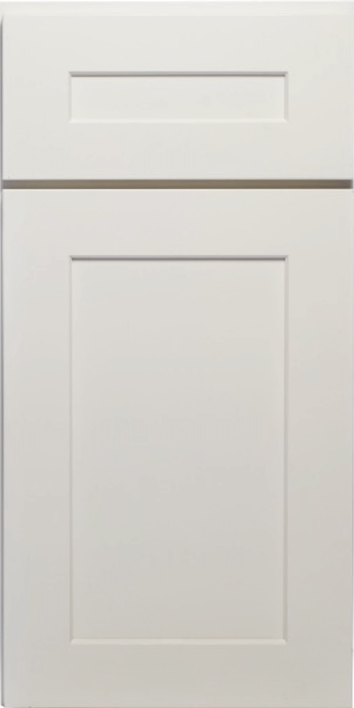 Muses Cabinets Thielsen Pigeon White white rta shaker kitchen cabinets door and drawer sample