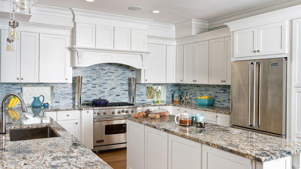 Beautiful White Fabuwood Kitchen Cabinets