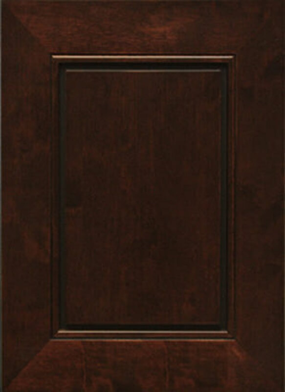 CCD Cabinets Coco Bay stained shaker rta kitchen cabinets door and drawer sample