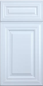 ROC Cabinetry Classic White white traditional rta kitchen cabinets door and drawer sample