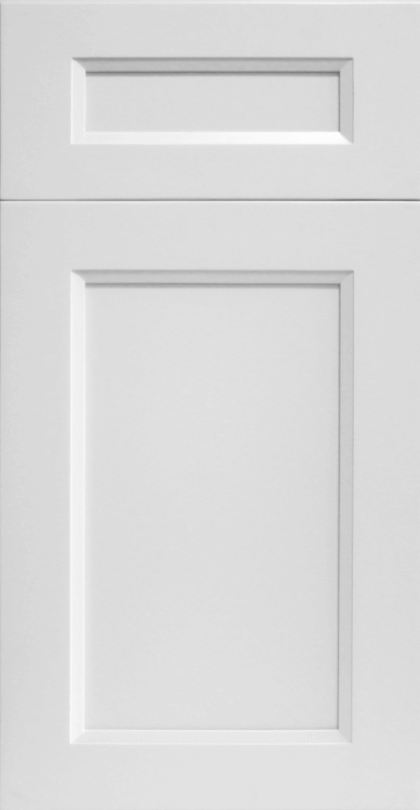 ROC Cabinetry Escada Dove off white shaker rta kitchen cabinets door and drawer sample