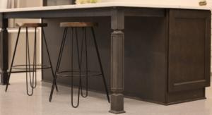 New kitchen featuring ROC Cabinetry Escada Vintage Gray dark gray shaker rta kitchen cabinets2
