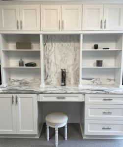 New kitchen featuring ROC Cabinetry Escada White white shaker rta kitchen cabinets