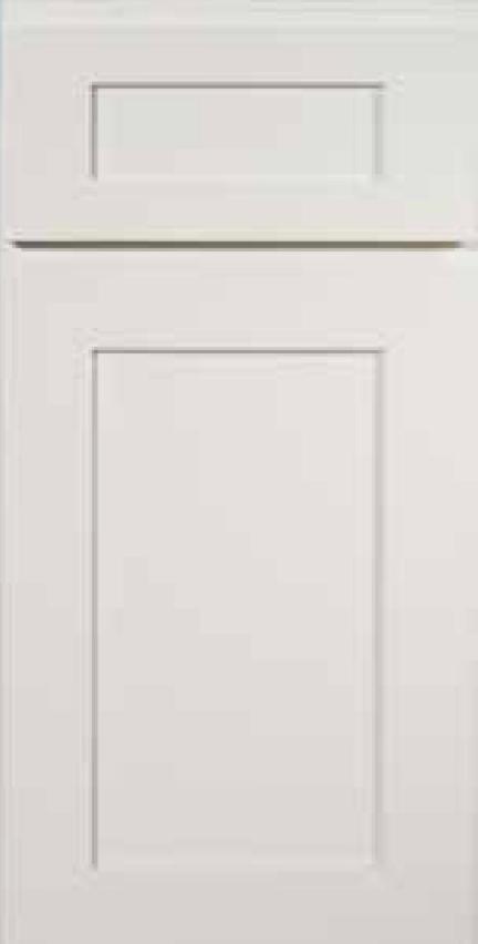 KCD Cabinets Shaker Designer White white shaker assembled kitchen cabinets door and drawer sample