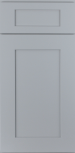 ROC Cabinetry Shaker Gray gray shaker rta kitchen cabinets door and drawer sample